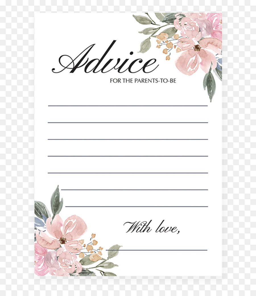 Floral design Baby shower Wedding invitation Greeting & Note Cards ...