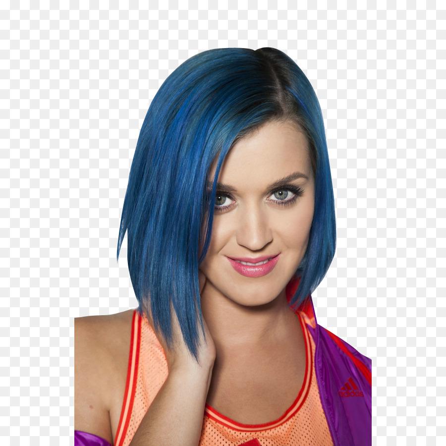 Katy Perry Frisur Bob Schnitt Blaue Haare Katy Perry Png