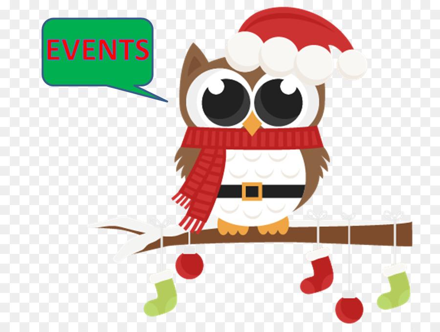 owl clip art christmas santa claus christmas graphics owl - Owl Christmas