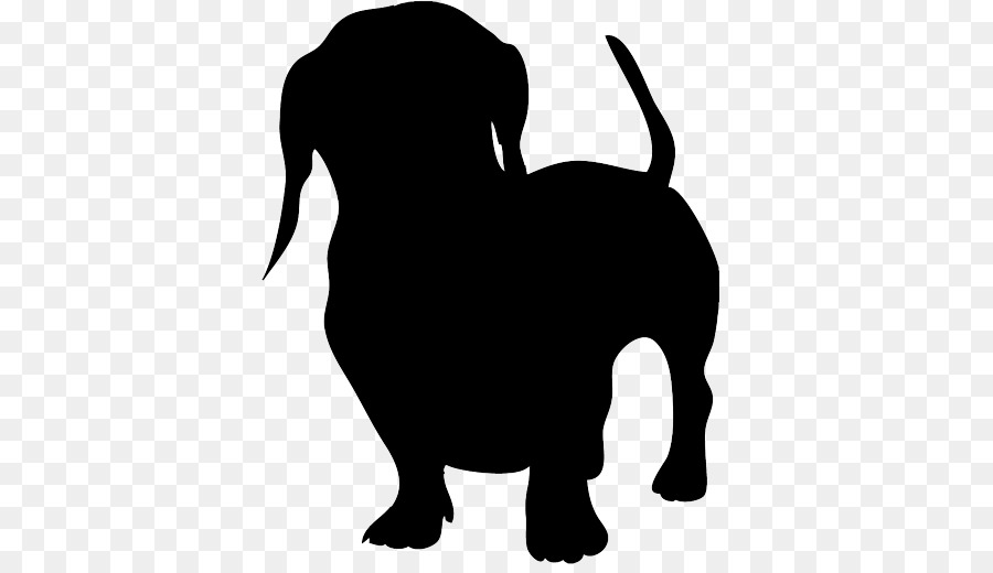 Dachshund Clip Art Silhouette Image Vector Graphics