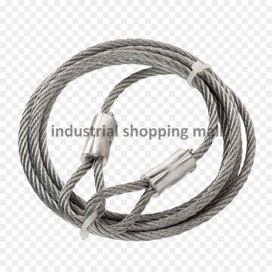 Wire rope Galvanization Steel - iron wire png download - 1000*1000 ...