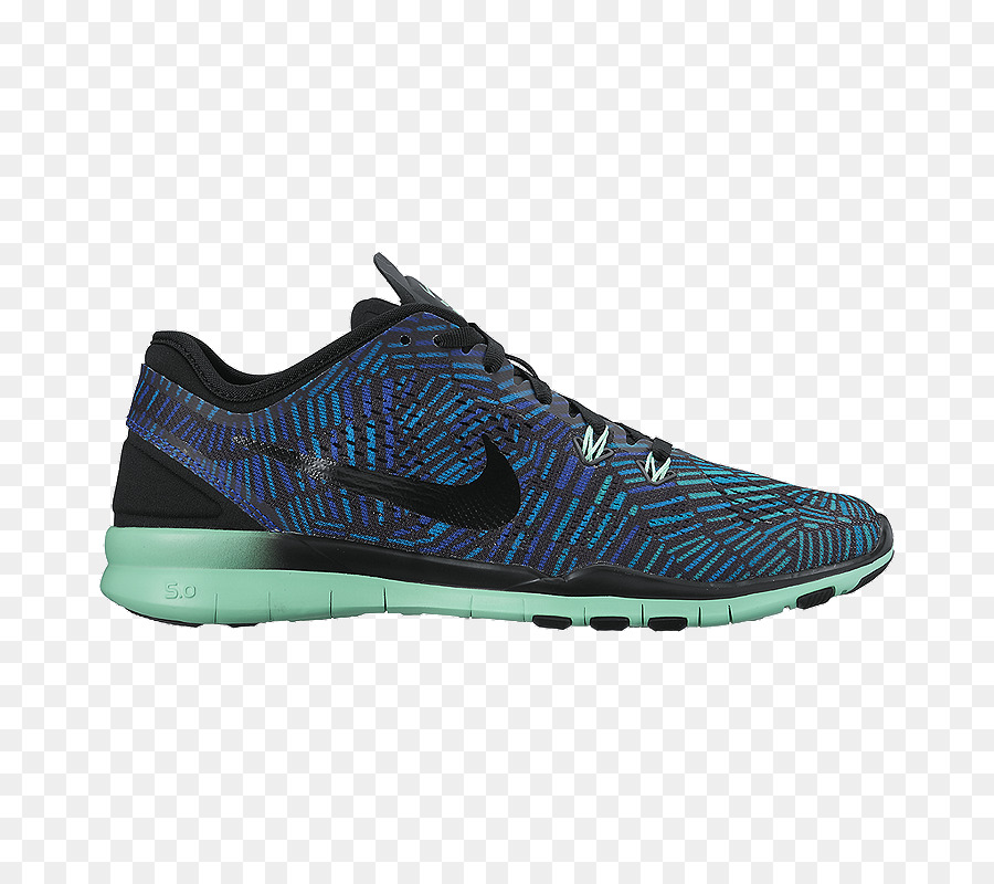 huge selection of a634e 7fe4a Nike Womens Free 5.0 Tr Fit 5 Prt Training Shoes Nike Free Tr Fit 5 Print  Womens Training Shoes ClearwaterBlue LagoonFlash Lime Sports shoes -  TRAINING ...