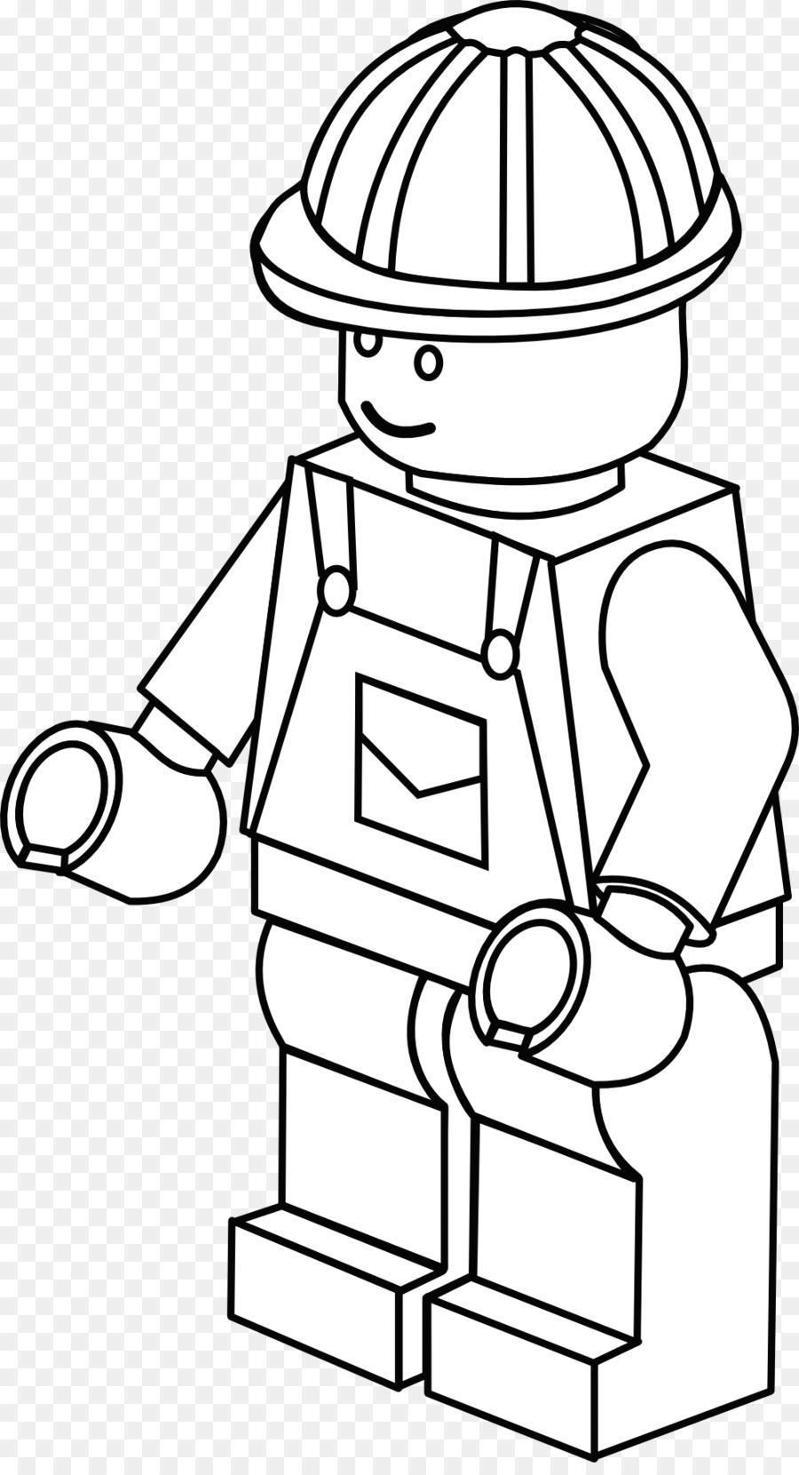 Páginas para colorear libro para Colorear Lego minifigures Bombero ...