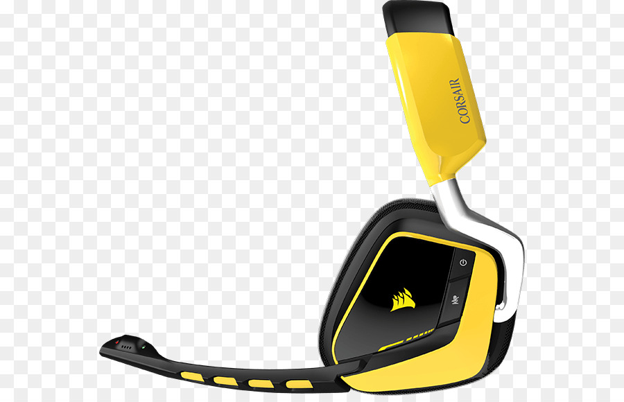 Corsair Void Pro Rgb Yellow png download - 614*571 - Free