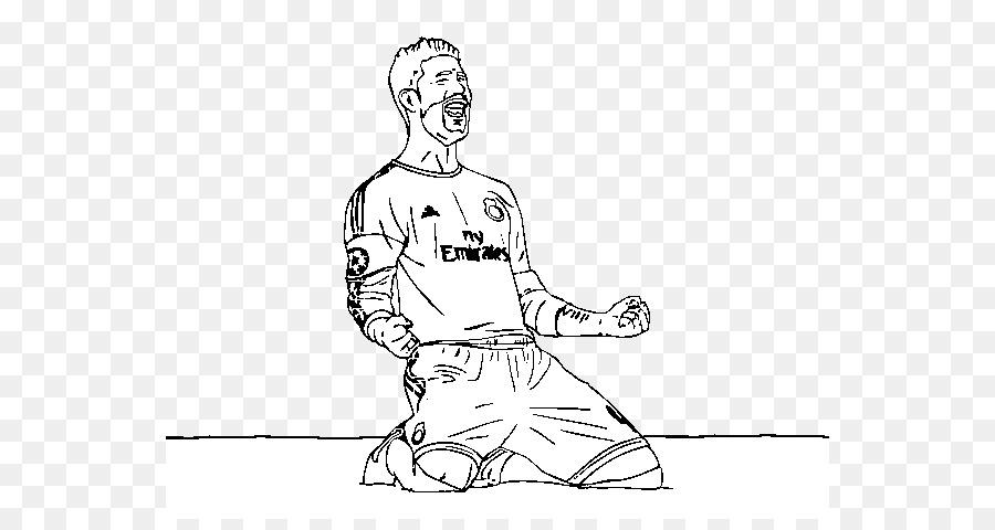 Boyama Sayfaları Boyama Kitabı çizim Gol Futbol Futbol Png Indir
