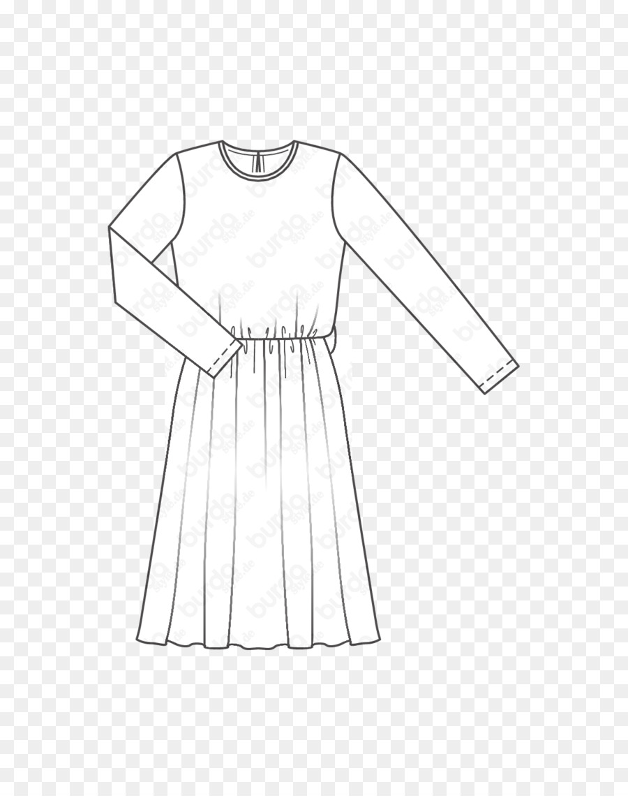 4be7455f46f Pattern Dress Fashion T-shirt Clothing - front wigs material png ...