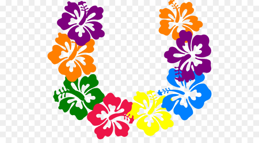 Clip Art Borders And Frames Hawaiian Hibiscus Yellow Hibiscus Image