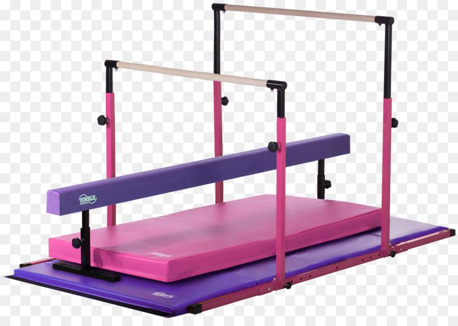 trave de ginástica esteira de barras assimétricas barra horizontal