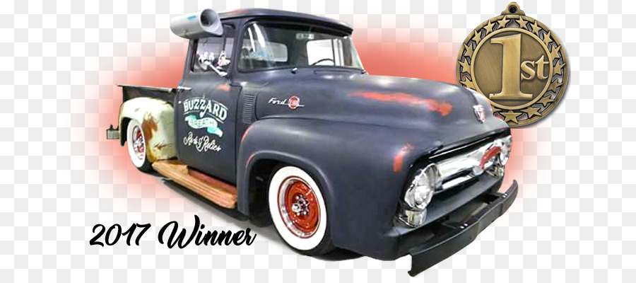 Pickup truck The Fort Smith Convention Center Car Rat rod Hot rod - 2nd Place Trophy Cheese