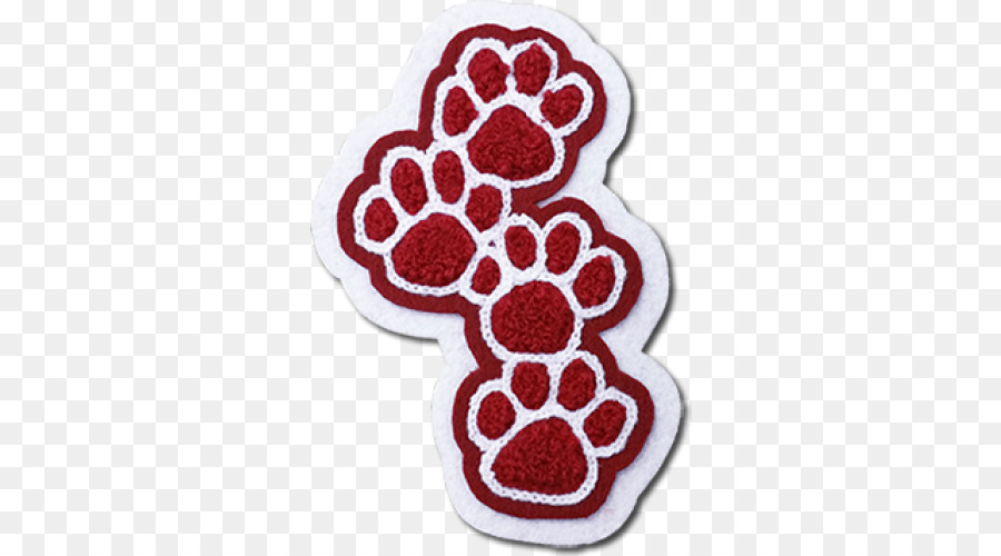 Embroidered patch Varsity letter School Paw Shoulder sleeve insignia ...