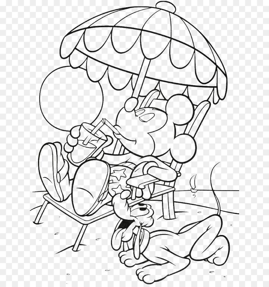 Mickey Mouse Minnie Mouse Pluto Boyama Kitabı çizim Mickey Fare