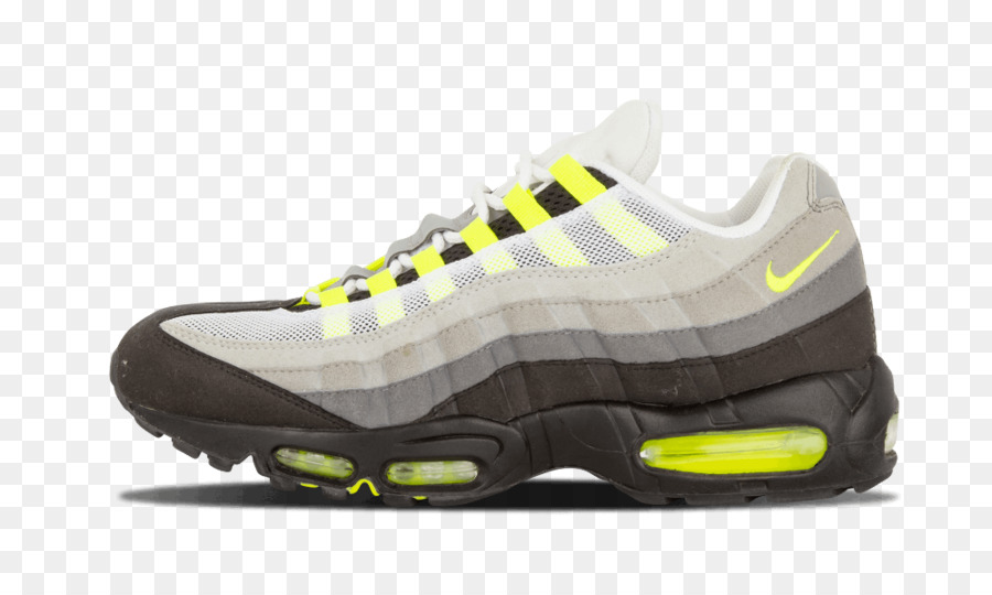 823f5759a4f030 Mens Nike Air Max 95 Sports shoes Air Max 95 OG - Rainbow Neon Nike Shoes  png download - 1000 600 - Free Transparent Nike png Download.