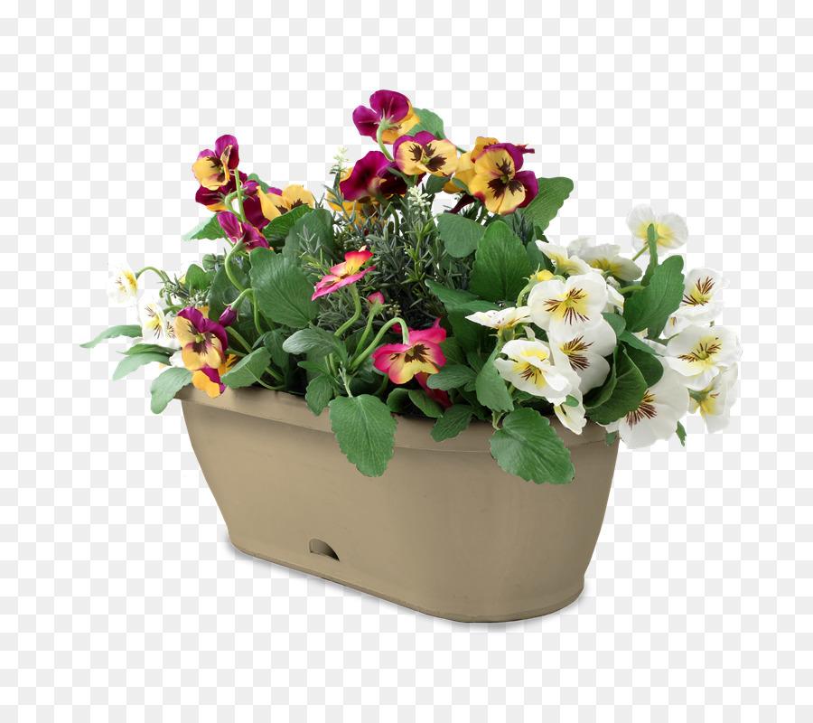 Floral Design Flowerpot Houseplant Fence