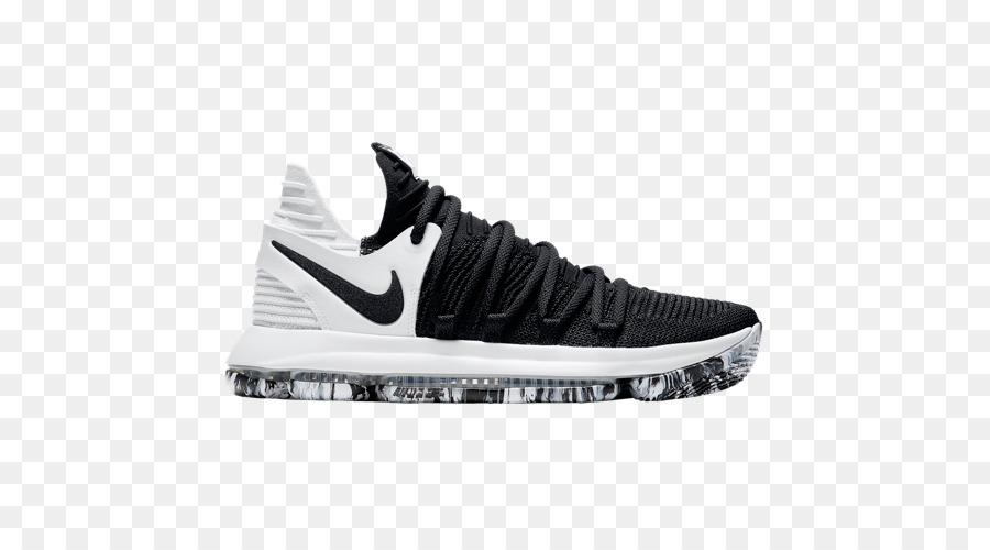 best service 07621 75a26 Nike Zoom Kd 10 Nike Zoom KD line KD 10 Black White Sports shoes - KD Shoes  png download - 500500 - Free Transparent Nike Zoom Kd 10 png Download.