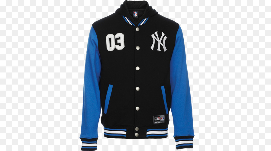 sports shoes 8bb29 d9db6 New York Yankees MLB Giacca di Majestic Athletic T-shirt ...