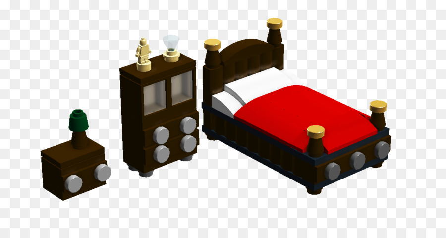 Table Bed Frame Furniture Lego Neoclassical Building Balcony Png