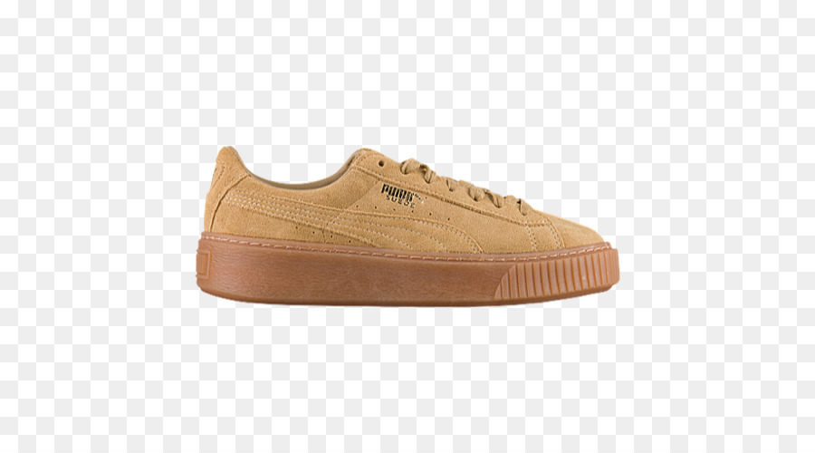 7536975de4c PUMA Suede Classic Sneaker Sports shoes Foot Locker PUMA Creeper Metallic  Toe Sneakers - Beige Puma Shoes for Women png download - 500 500 - Free ...