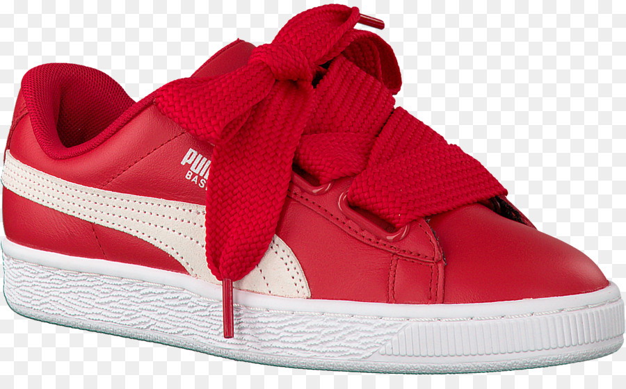 2c34e98f03e Sports shoes Red Puma Basket Heart Patent - Red Puma Shoes for Women png  download - 1500 906 - Free Transparent Sports Shoes png Download.