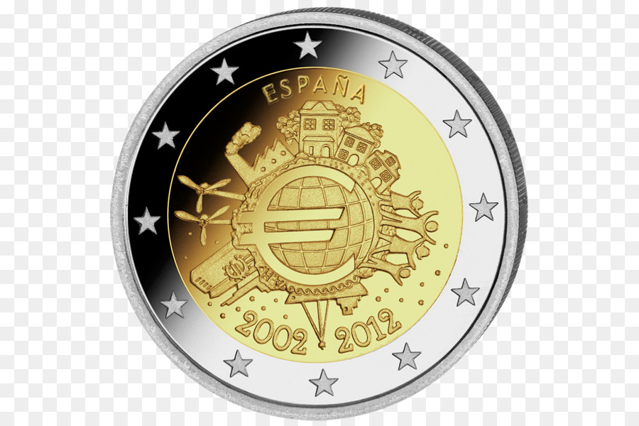 2 Euro Commemorative Coins 2 Euro Coin Euro Coins Spain Currency
