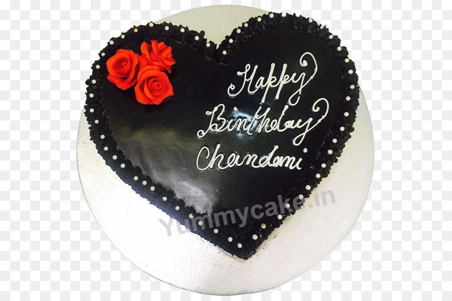 Schokoladen Kuchen Kuchen Deko Cupcake Ganache Herz Form Kuchen