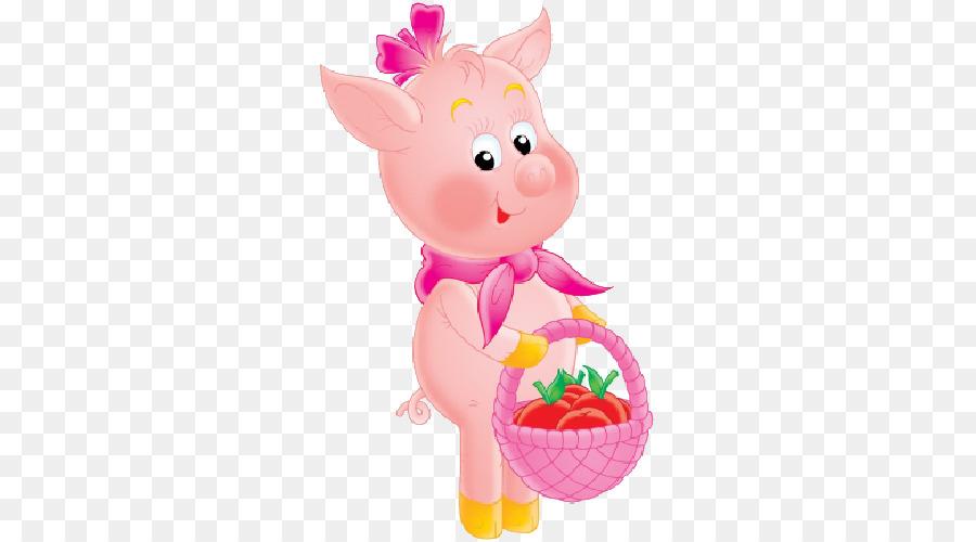 Pig Clip Art Illustration Royalty Free Image