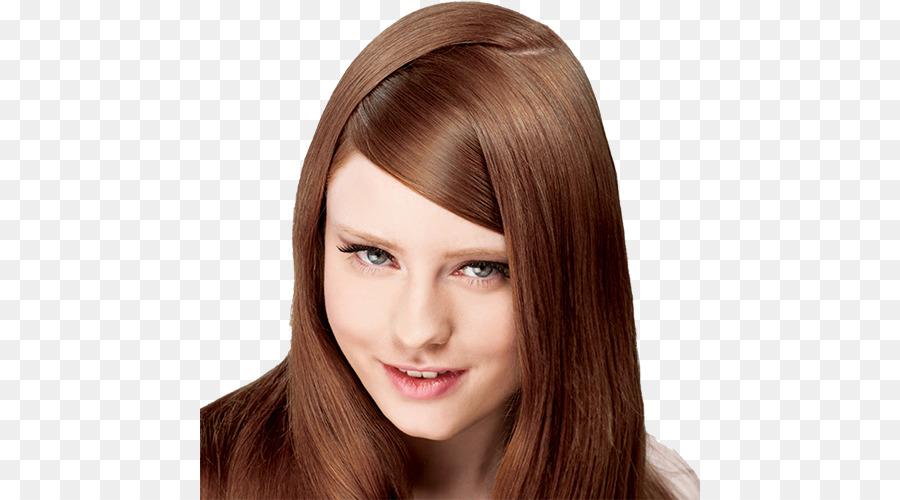 Braunes Haar Menschliches Haar Farbe Haare Färben Rote Haare