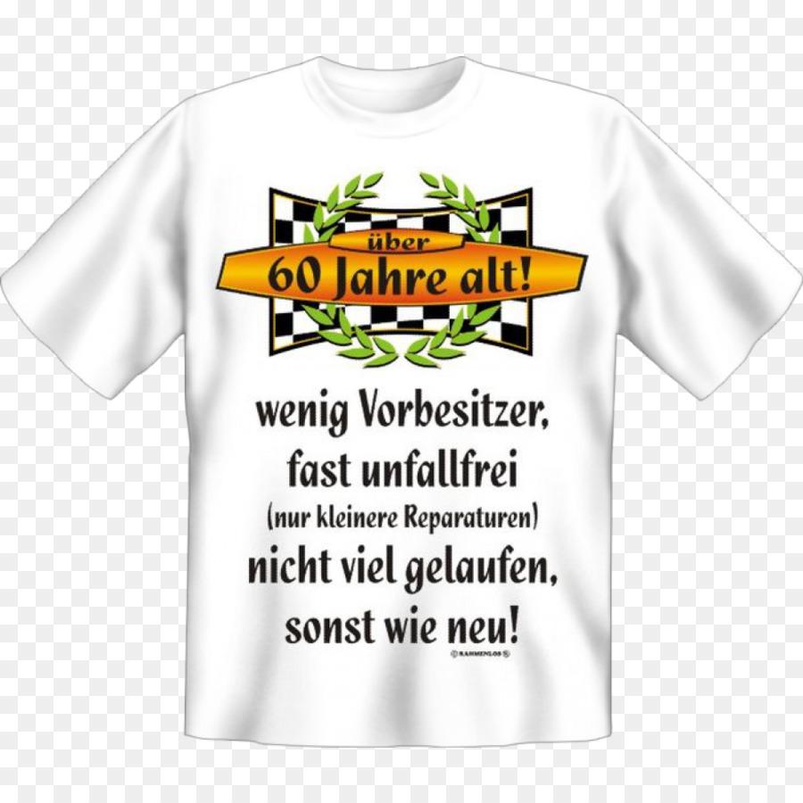 T Shirt Geburtstag Geschenk Armel Bluza 60 Geburtstag Png