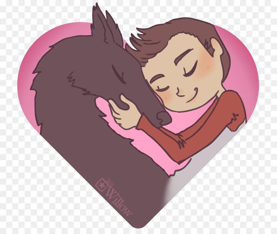 Dog Horse Illustration Tumblr Love Teen Wolf Drawings Cute Png