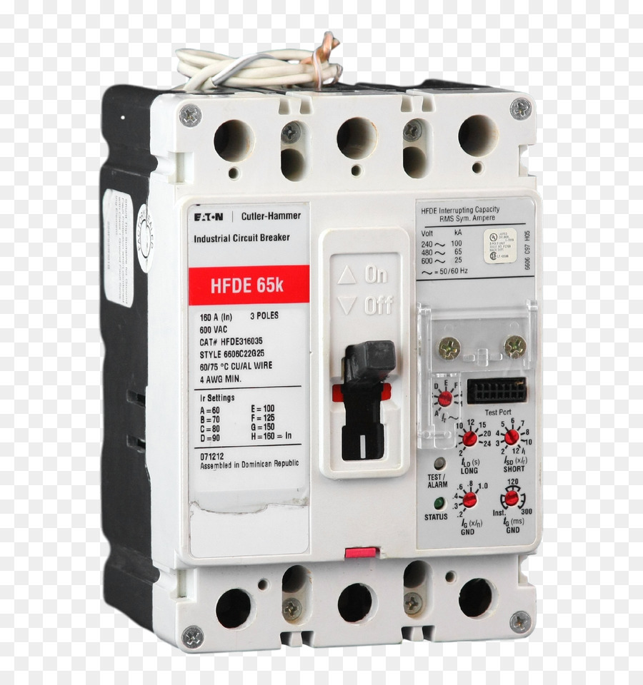 Circuit breaker Distribution board Electrical network Wiring diagram  Electronic circuit - Cutler Hammer
