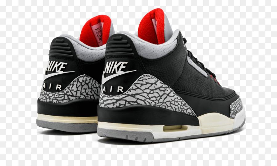 cb2605c07af Air Jordan 3 Retro Og 854262 001, Air Jordan, Cement, Footwear, White PNG