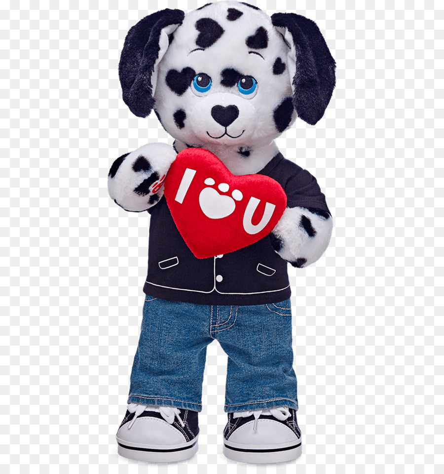 8a137987546 Dalmatian dog Stuffed Animals   Cuddly Toys Build-A-Bear Workshop  Valentine s Day - Build a Bear Workshop png download - 470 950 - Free  Transparent png ...
