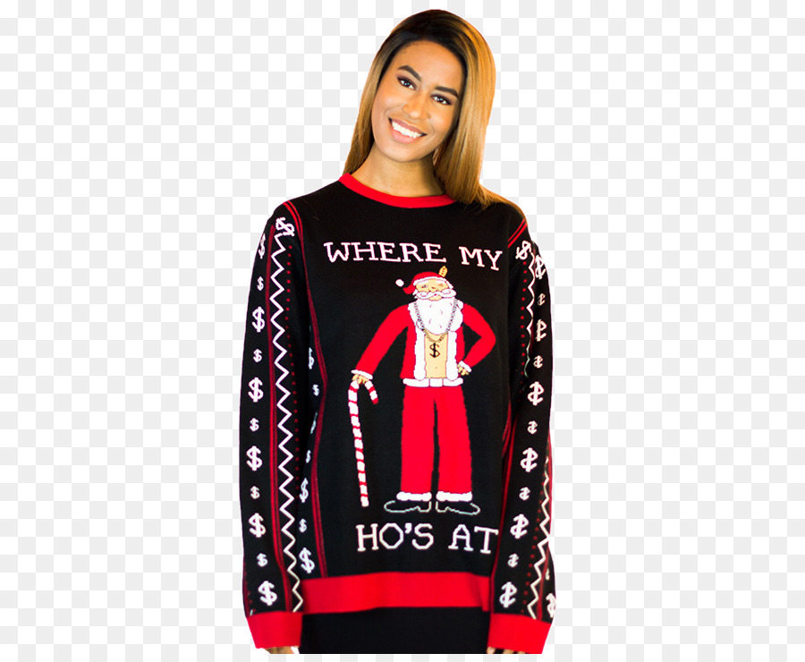 hoodie t shirt sleeve sweater bluza best ugly christmas sweater - Best Ugly Christmas Sweater