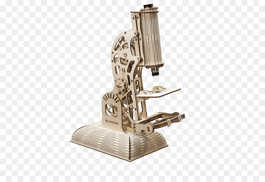 Mikroskop jigsaw teka teki mainan construction set anak serbuk