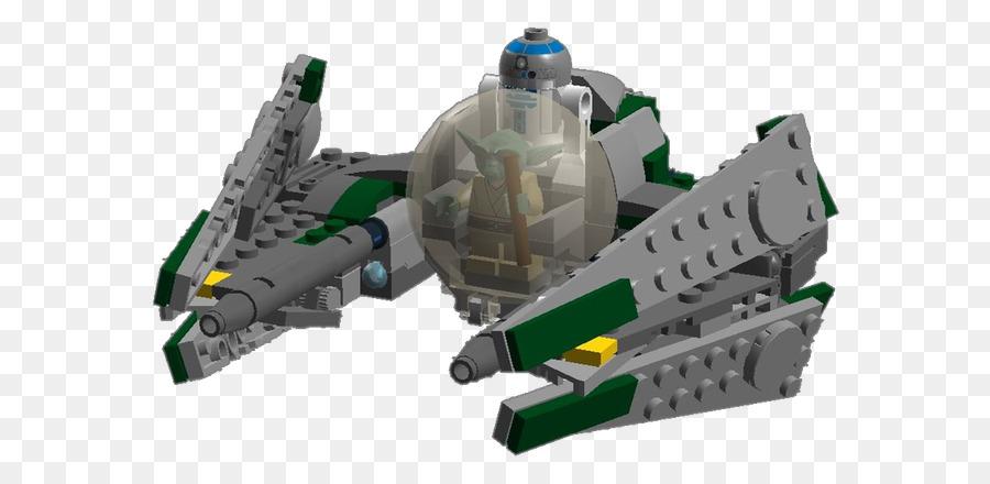 Yoda Star Wars Jedi Starfighter R2 D2 Anakin Skywalker Lego