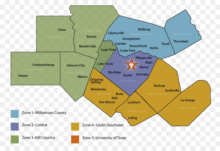 Map Of Texas Hill Country Cities.Student Cartoon Png Download 1920 1296 Free Transparent Bastrop