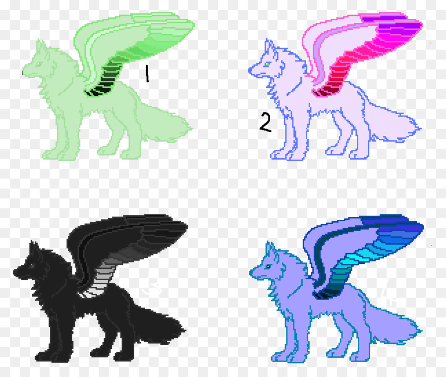 cat horse mammal dog clip art elemental winged wolf drawings png