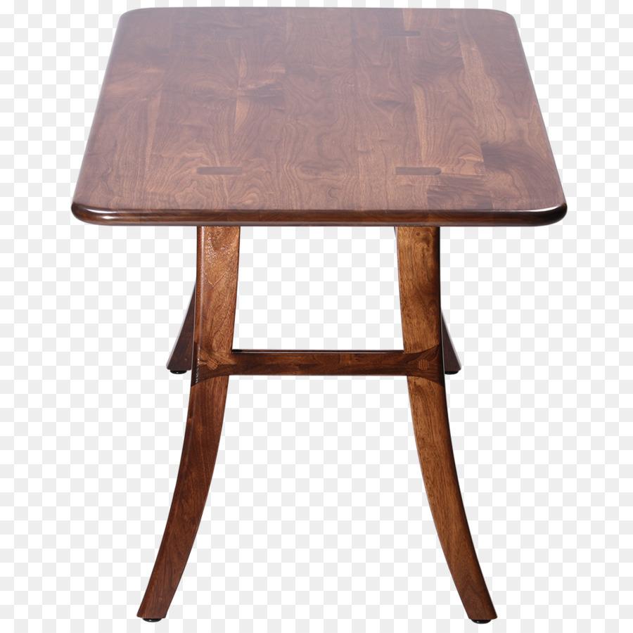 Tisch Esszimmer Küche Möbel Eastern black walnut - Walnuss weiß ...