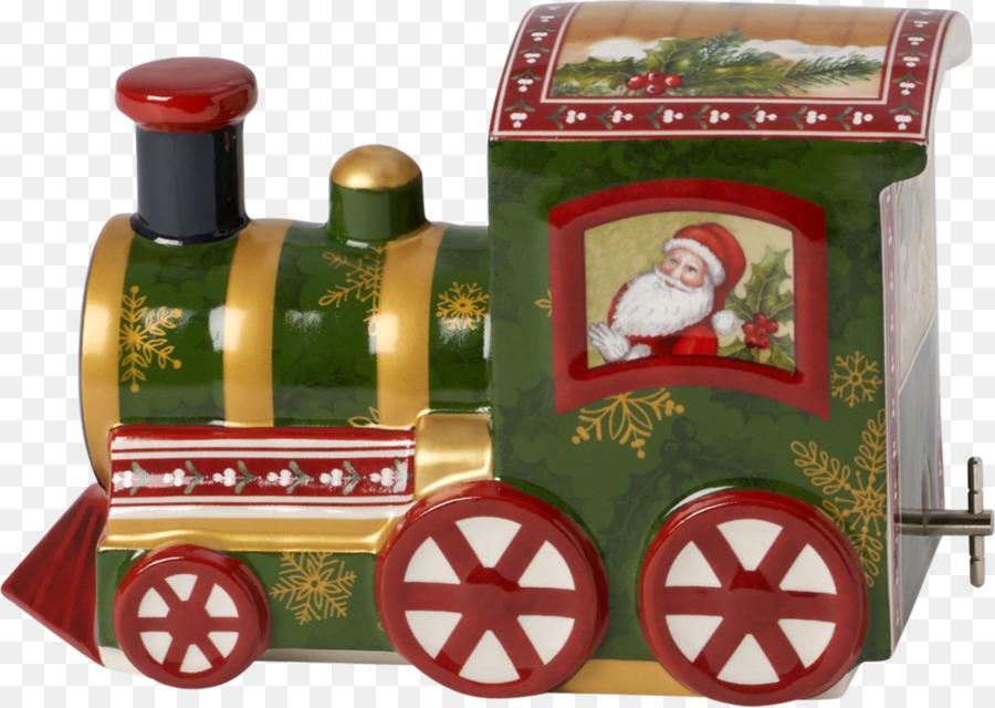 ce5ece141b8e7 Santa Claus Nostalgic Melody North Pole Express porcelain musical ...