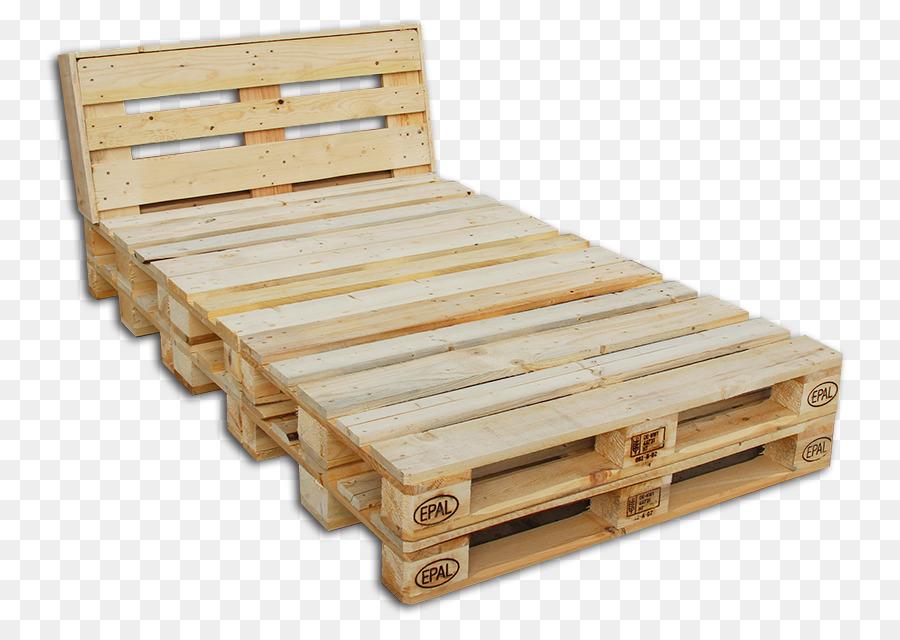 Bed Van Pallets : Bed frame lumber hardwood plywood pallet bed png download