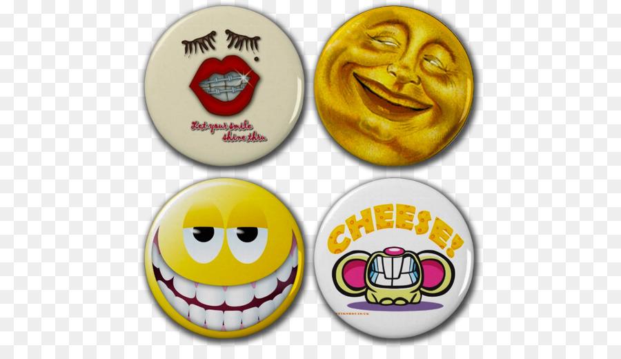 Cheese Magnet Smiley Pin Badges Tibetan silver Charms & Pendants