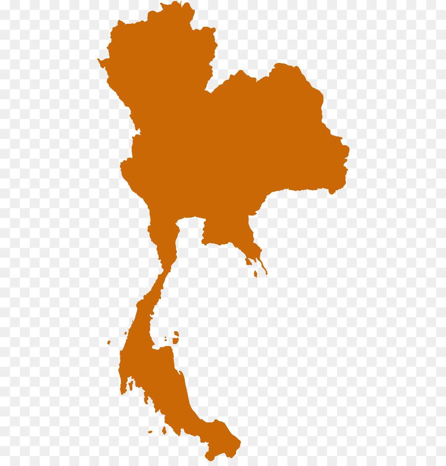 Vector Graphics Royalty Free Thailand World Map Chiang Mai