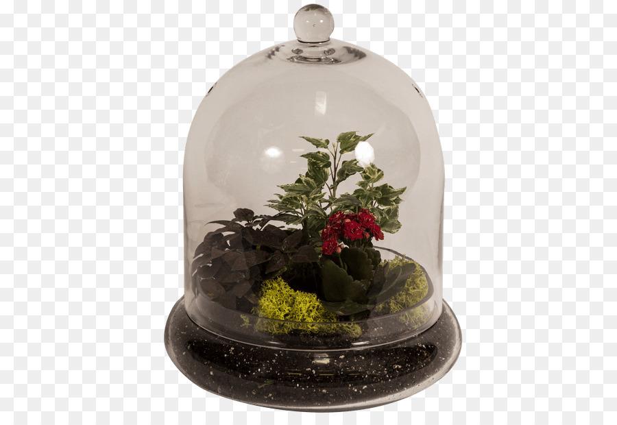 Christmas Ornament Bell Canada Flower Christmas Day Moss Terrarium