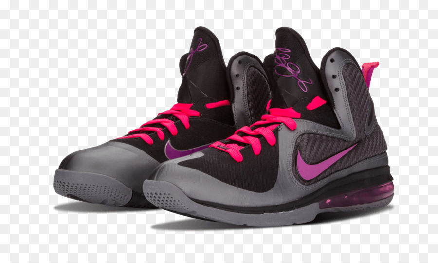 2d7ee3b164232 Sports shoes Nike Air Force Nike LeBron 9  Miami Night  Mens Sneakers -  lebron 10 png download - 1000 600 - Free Transparent Sports Shoes png  Download.