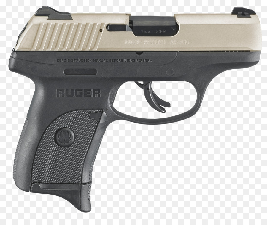 ruger 9mm pistol png download - 4327*3561 - Free Transparent