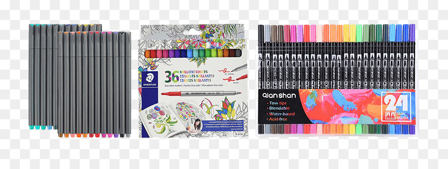 Marker pen Coloring book Pens Prismacolor 3721 Premier Double-Ended ...