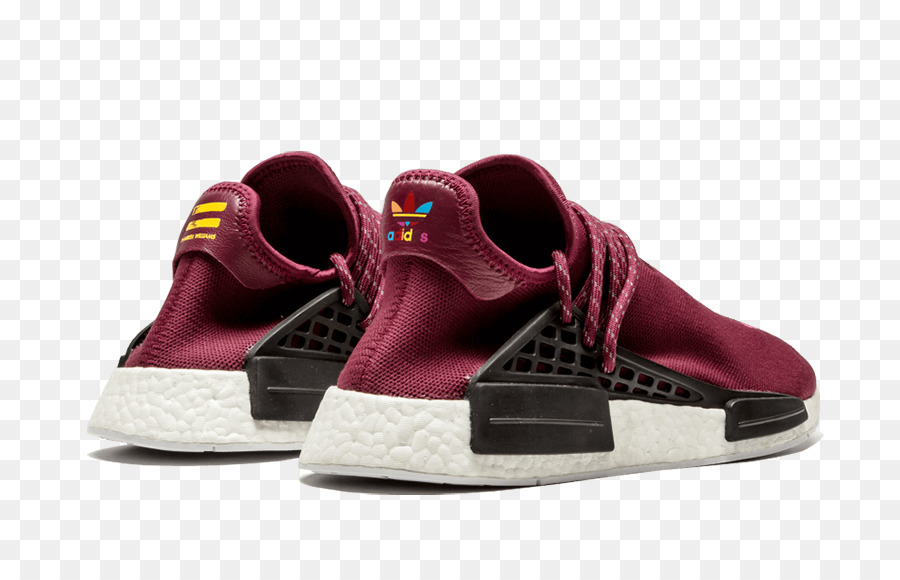 10465d49b2f154 Adidas Mens Pw Human Race NMD Tr Adidas Pw Human Race Nmd BB0617 adidas NMD  R1 Pharrell HU Friends and Family Burgundy - maroon puma shoes for women  png ...