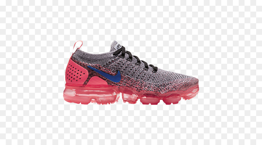 870fb0a5fc0c Nike Air VaporMax Flyknit 2 Women s Sports shoes Nike Air Max - pink and black  nike shoes for women png download - 500 500 - Free Transparent Nike png ...