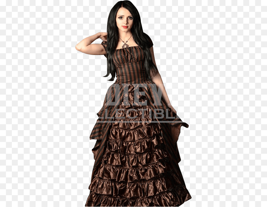 Ruffle Dress Steampunk fashion Clothing Gown - steampunk doctor who ...