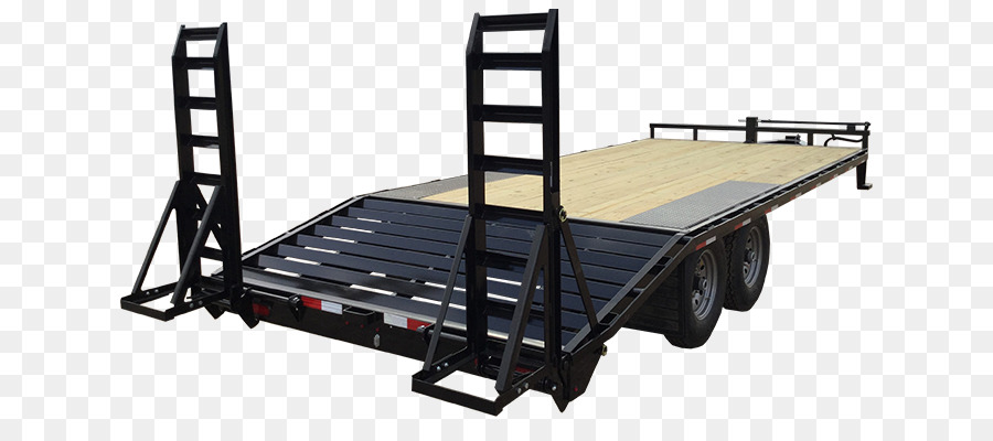 Truck Bed Part Lamar Trailers Flatbed truck - enclosed balcony ...