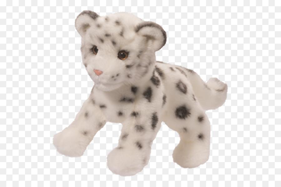 Snow Leopard Stuffed Animals Cuddly Toys Plush Leopard Png